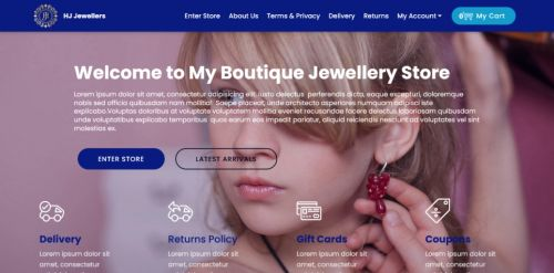 My Boutique Store with Catalogue Mode System Template for V4