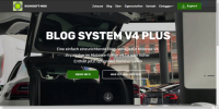 Mobirise V4 Blog PLUS DE System Template for v4.7.x or later from RichoSoft Squared
