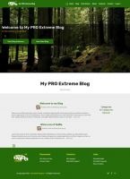 Mobirise V4 ENGLISH Blog EXTREME PROFESSIONAL System Template for v4.11.4 or later from RichoSoft Squared
