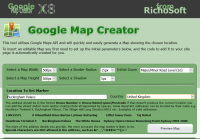 Google Map Creator PLUS for WebPlus X7