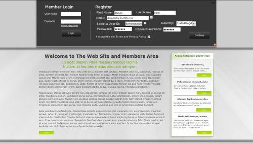 Web Site +Subs Members Area X8 (For Serif WebPlus X8)