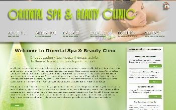 Oriental Spa for X7 (For Serif WebPlus X7)