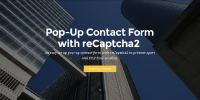 Mobirise FormMail PopUp Contact Form with reCaptcha2 for v3.08 to 3.12.1 from RichoSoft Squared