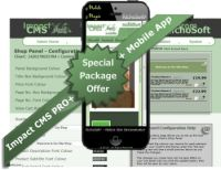Impact CMS PRO PLUS X8 SPECIAL PACK (For Serif WebPlus X8) V4.2