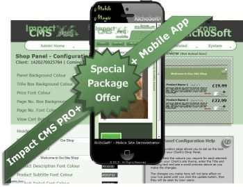 Impact CMS PRO PLUS X8 SPECIAL PACK (For Serif WebPlus X8) V4.2