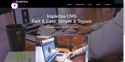 Impāctus CMS System