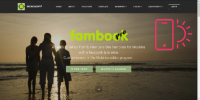 Mobirise 4 fambook PRO Membership System Template for V4 from RichoSoft Squared