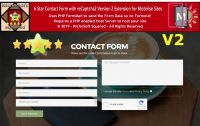 Mobirise 6 Star reCaptcha2 Contact Form Extension