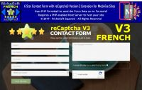 Mobirise FRENCH 6 Star reCaptcha3 Contact Form Extension