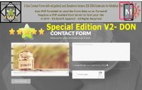 The Amazing Multi-Function 6 Star reCaptcha2 Contact Form Extension