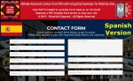 Mobirise Spanish ULTIMATE PRO ADVANCED With Unlimited Licences reCaptcha2 Contact Form Extension