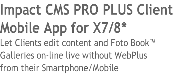 Impact CMS PRO PLUS Client 